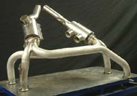 AMD 0-200 Exhaust with mufflers